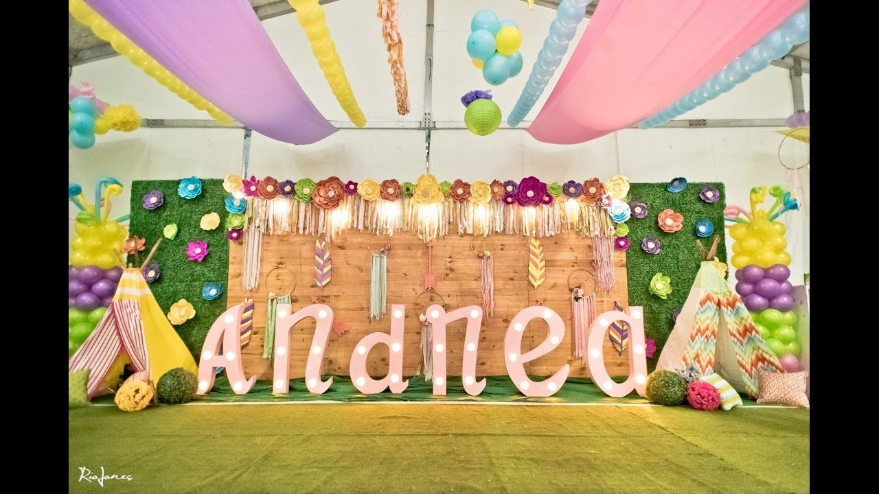 Andrea S Coachella 1st Birthday At Acacia Estates Youtube
