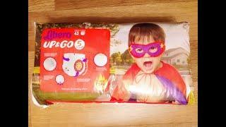 Распаковка Подгузники-трусики детские Libero Up&Go Hero Collection 5 10-14 кг из Rozetka.com.ua