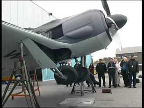 FlugWerk FW 190 - Fahrwerktest