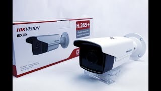 HIKVISION DS-2CD2T85FWD-I8 UNBOXING & OVERVIEW 4K UHD H.265 8MP 80M EXIR IP SECURITY CCTV CAMERA