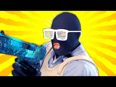 CS:GO - WTF HACKER & Crazy Girlfriend!