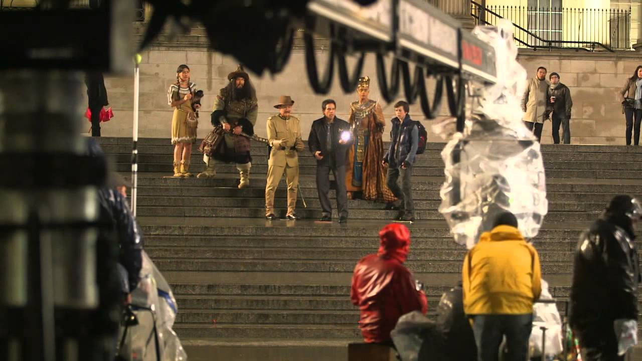 Download Night at the Museum: Secret of the Tomb: Full Behind the Scenes Movie Broll   ScreenSlam