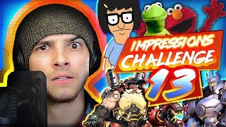 IMPRESSIONS CHALLENGE 13 | Mikey Bolts