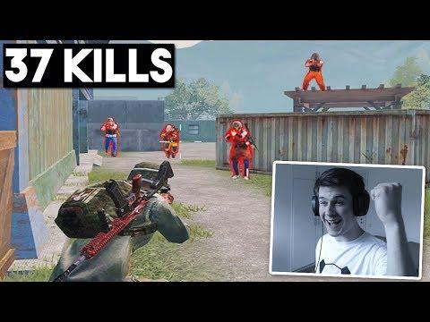 new-world-record-in-deathmatch!-|-37-kills-solo-|-pubg-mobile-🐼