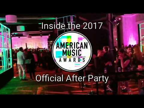 Inside The 2017 American Music Awards Official After Party
