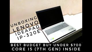 Unboxing Lenovo Ideapad IP 320E [7th gen intel inside|Best Budget Laptop Under 50k]|Ubox