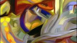 """How to paint Kandinsky like abstracted style """"How Kandinsky found his personal August..."""""""