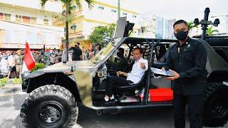 Download Gunakan Kendaraan Taktis, Presiden Sapa Masyarakat Tarakan, 19 Oktober 2021
