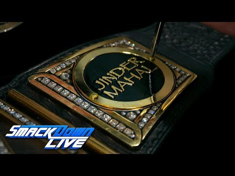 Jinder Mahal's custom plates are added to the WWE Championship: Exclusive, May 23, 2017