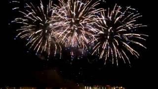 Салют на День города в Москве 10.09.2016 г. Южное Бутово