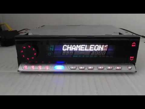 JVC EL CHAMELEON KD-LX555R MP3 Car Radio
