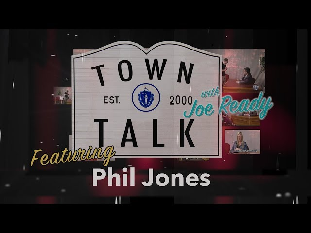 Town Talk featuring Phil Jones - May 6, 2019