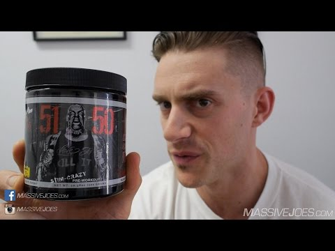 Rich Piana 5% Nutrition 5150 Pre-Workout Supplement Review - MassiveJoes.com Raw Review