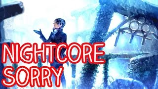 nightcore sorry justin bieber