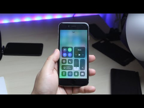 iOS 11 Beta 8 On iPHONE 6! (Review)
