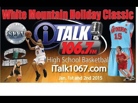 Holbrook Roadrunners vs Kellis Cougars White Mountain Holiday Classic Basketball Tournament