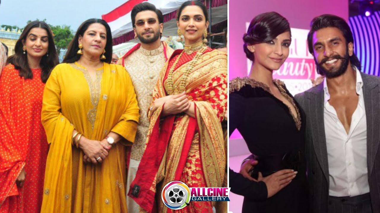 Ranveer Singh Family Members with Wife Deepika Padukone ...