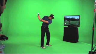 Tiger Woods playing the Masters in Tiger Woods PGA TOUR 12