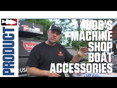 Bob's Machine Shop Boat Accessories Product Video With Luke Clausen