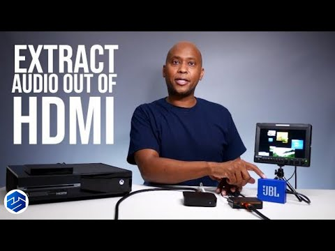 How To Extract Audio Out Of HDMI Cables With A DotStone HDMI Audio 236