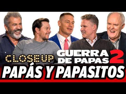 MelGibson, John Cena, WillFerrell y MarkWahlberg entrevistas exclusivas Guerra de Papás2 (Close Up))