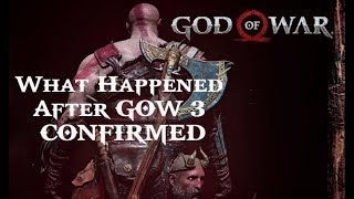 What Happened to Kratos After GOW 3 CONFIRMED