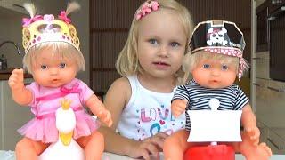 Куколки НЕНУКО мальчик и девочка игровой набор The NENUKO dolls boy and girl game set