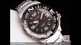 SEIKO Superior Black Automatic Watch SRP445K1 e3a0f83a86c8