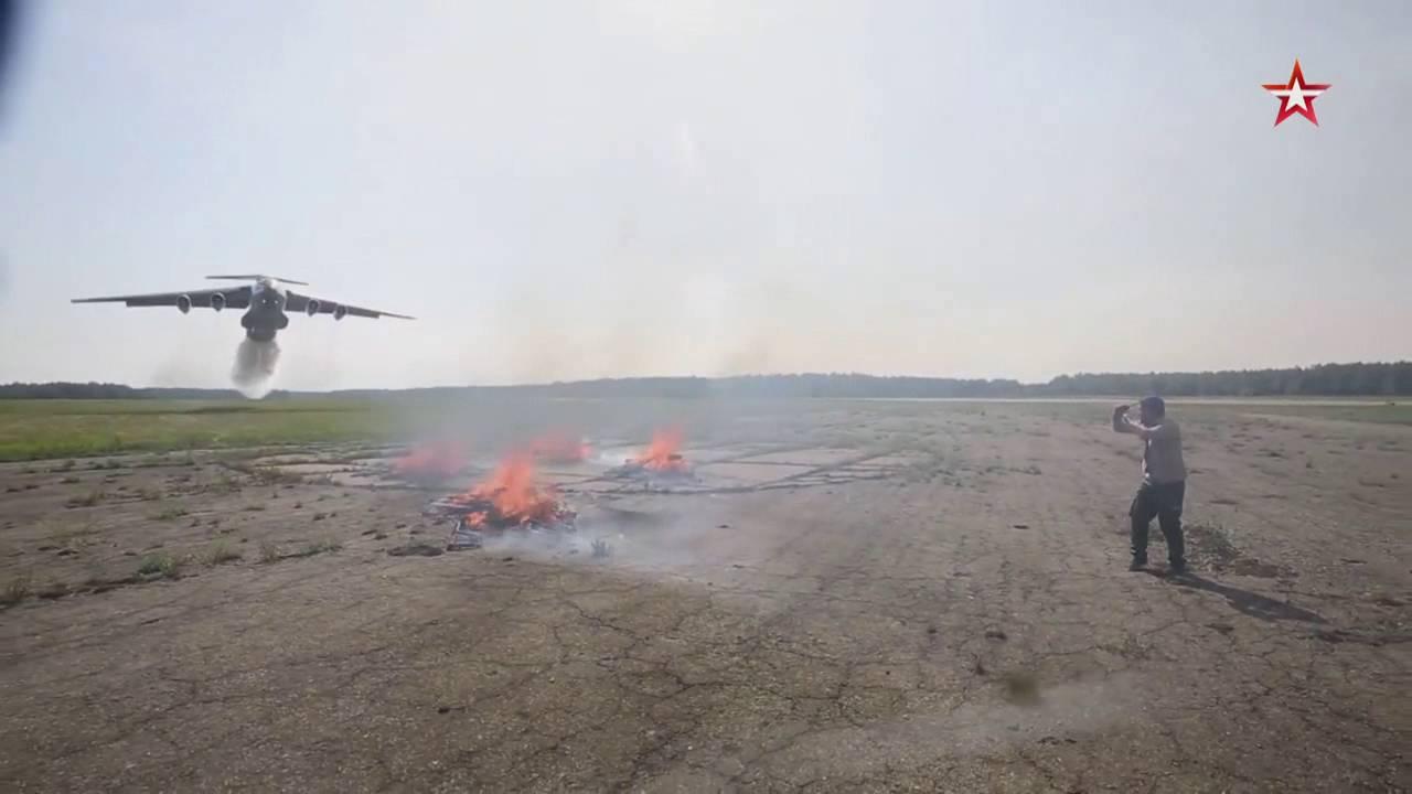 Vodka-Lieferung auf Russisch per Iljuschin Il-76