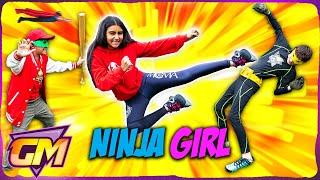 Meet Ninja Girl! - Superhero Kids Parody - Super Squad Episode 4