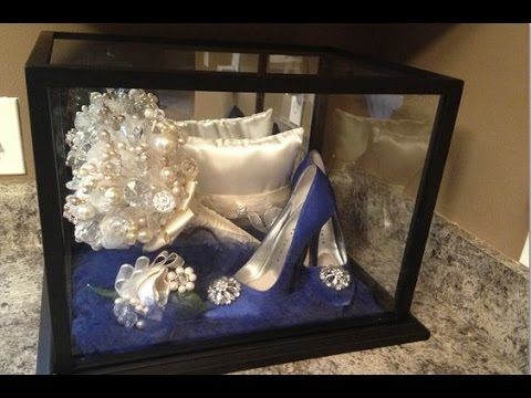 Wedding Bouquet Keepsake Box - YouTube