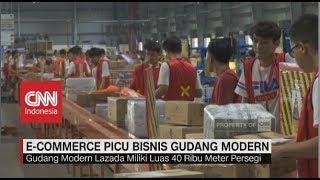 Gambar cover E-Commerce Picu Bisnis Gudang Modern