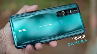 Tecno Camon 15 Pro Unboxing and first Impression, popup 32MP seflie camera
