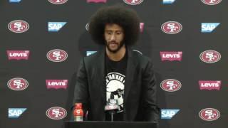 49ers Vs Buccaneers | Postgame Press Conference | Colin Kaepernick