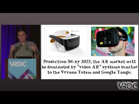 "VR Prediction #30: ""Video AR"" Systems Dominate AR Market 2025"