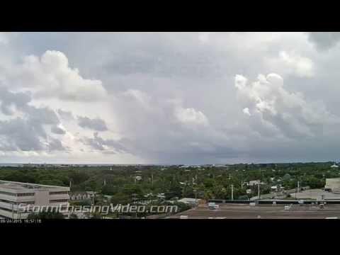 9/24/2015 Key West, FL Cloud Timelapse