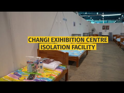Covid-19: Changi Exhibition Centre in Singapore repurposed into a Community Isolation Facility
