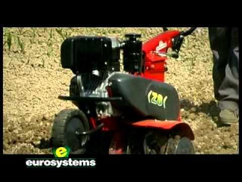 Eurosystems motozappa z8 youtube for Motozappa youtube