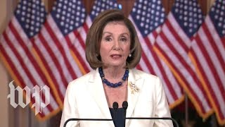 WATCH: Pelosi asks House to proceed with articles of impeachment against Trump (FULL LIVE STREAM)