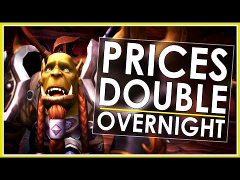 Gold Price Doubled Overnight! - WoW Token For Bnet Balance Is Live Now!