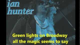 Watch Ian Hunter Broadway video