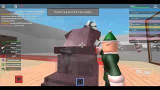 Roblox random servers ep. 10 Christmas Warfare!!!