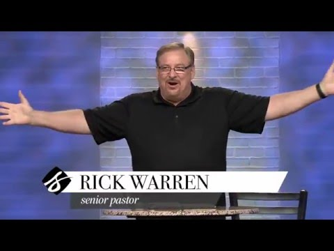 Learn How To Grow a Love that Lasts with Rick Warren