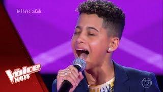 Felipinho canta 'Coração do Maloqueiro' nas Audições às Cegas - The Voice Kids Brasil   5ª Temporada