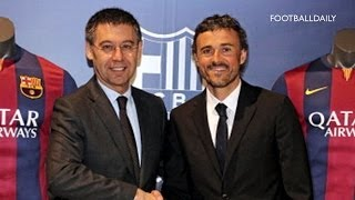 Fc barcelona have unveiled new manager luis enrique, with the former club captain saying he is looking forward to building a 'new barca'. subscribe: http://b...