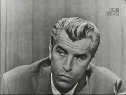 What's My Line?  Fernando Lamas; Walter Pidgeon panel Apr 7, 1957