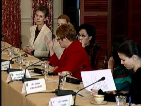 First Meeting of the International Council on Women's Business Leadership