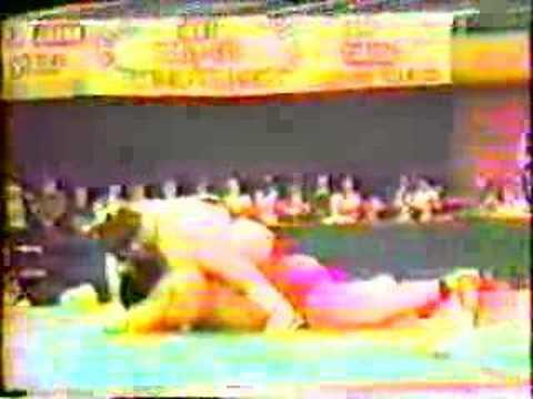 Salman Khasimikov v. Bruce Baumgartner 1983 World Cup