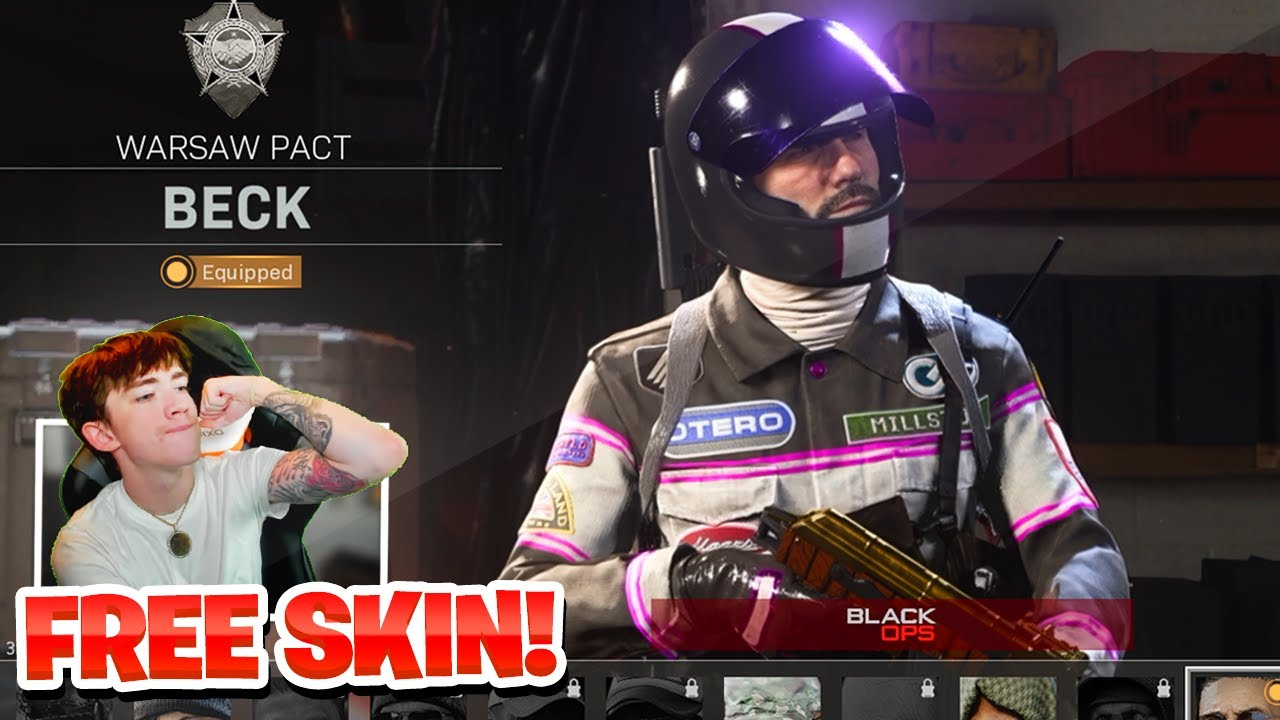 FREE OPERATOR SKIN CODE IN COLD WAR & WARZONE! HOW TO UNLOCK FREE VELOCITY OPERATOR SKIN! (NEW)