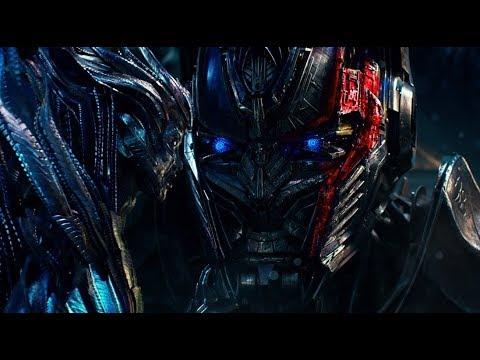 Transformers 5 : The Last Knight - Optimus prime meets Quintessa Scene (1080p HD)